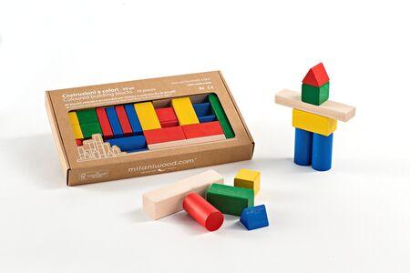 Giocattolo Costruzioni. Basic Milaniwood