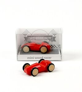 Giocattolo Mini Wood Racer Rosso X 1 Milaniwood