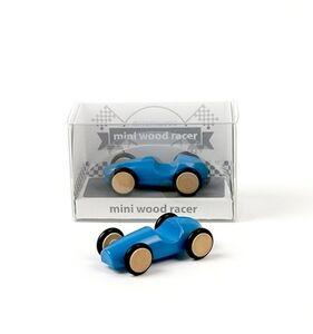 Giocattolo Mini Wood Racer Blu X 1 Milaniwood