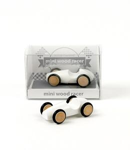 Mini Wood Racer Bianco X 1 - 2