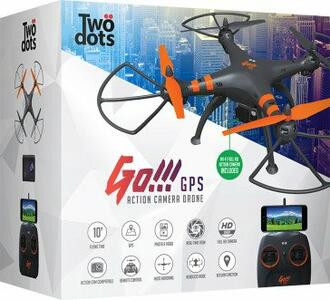TWO DOTS Drone GO 2.0 GPS + Camera