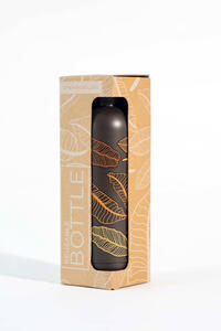 Idee regalo Bottiglia OpenWorlds Natura Foglie Marroni Open Wor(l)ds