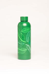 Idee regalo Bottiglia OpenWorlds Natura Foglie Verdi Open Wor(l)ds