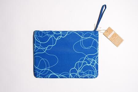 Cartoleria Zip Pocket Acqua Blu Open Wor(l)ds