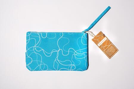 Cartoleria Zip Pocket small- Acqua Azzurra Open Wor(l)ds