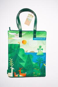 Cartoleria Bag Artist - Realizzata con fibre di plastica riciclata Open Wor(l)ds