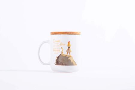 Idee regalo Tazza Mug OpenWorlds Lettura Alice con coperchio Open Wor(l)ds