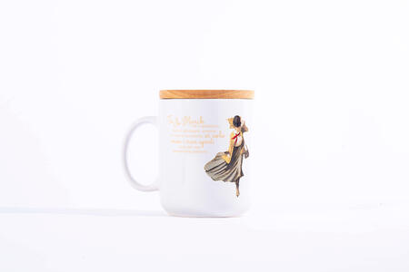 Idee regalo Tazza Mug OpenWorlds Lettura Piccole Donne con coperchio Open Wor(l)ds
