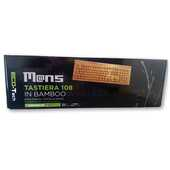 Idee regalo Tastiera alfanumerica portatile Wireless in bamboo Mans. 108 tasti Mans
