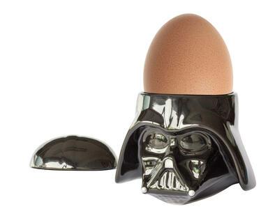 Star Wars. Darth Vader. Portauovo Con Saliera In Ceramica In Confezione Regalo 8X8X10 Cm