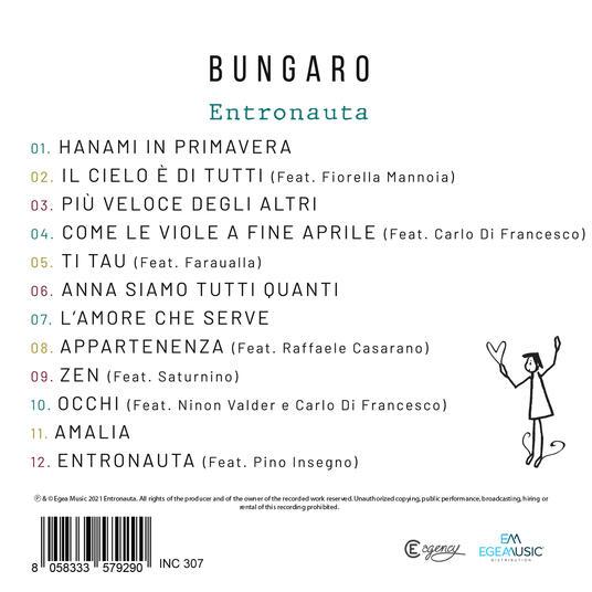 Entronauta - CD Audio di Bungaro - 2