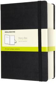 Cartoleria Raccoglitore Story Box Moleskine large nero. Black Moleskine