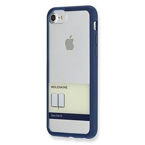 Custodia rigida Moleskine per iPhone 7 con fascetta. Blu - 4