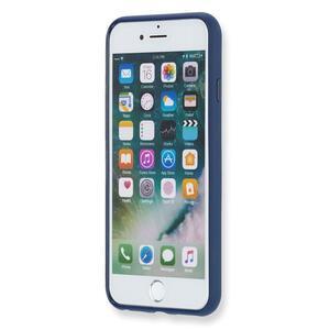 Custodia rigida Moleskine per iPhone 7 con fascetta. Blu - 8