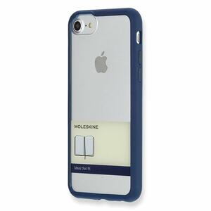 Custodia rigida Moleskine per iPhone 7 con fascetta. Blu - 9