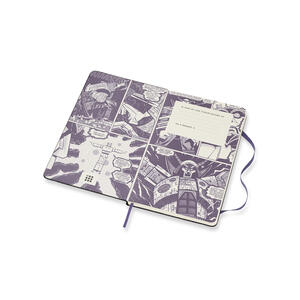 Taccuino Moleskine Transformers Limited Edition large a righe. Megatron - 3