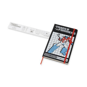 Taccuino Moleskine Transformers Limited Edition large a righe. Optimus Prime - 5