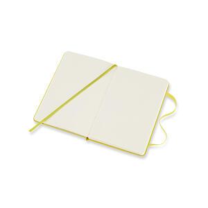 Taccuino Moleskine pocket a pagine bianche copertina rigida. Giallo - 4