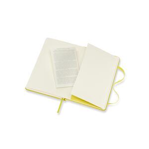 Taccuino Moleskine pocket a pagine bianche copertina rigida. Giallo - 5