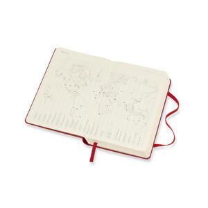 Agenda giornaliera 2019, 12 mesi, Moleskine pocket copertina rigida. Rosso - 4