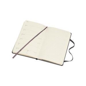 Weekly Notebook. Agenda-taccuino settimanale 2019, 12 mesi, Moleskine pocket copertina rigida. Nero - 5