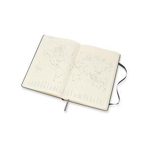 Weekly Notebook. Agenda-taccuino settimanale 2019, 12 mesi, Moleskine large copertina rigida. Nero - 4