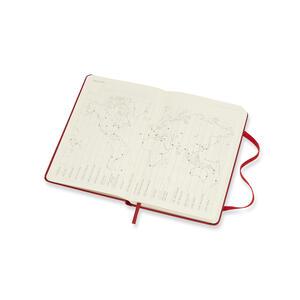Weekly Notebook. Agenda-taccuino settimanale 2019, 12 mesi, Moleskine pocket copertina rigida. Rosso - 4