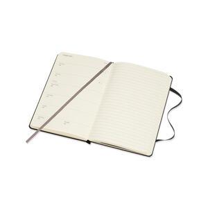 Weekly Notebook. Agenda-taccuino settimanale 2018-2019, 18 mesi, Moleskine pocket copertina rigida. Nero - 5