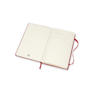 Weekly Notebook. Agenda-taccuino settimanale 2018-2019, 18 mesi, Moleskine large copertina rigida. Rosso - 2
