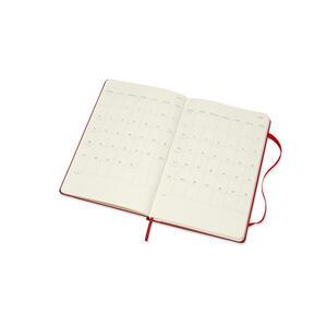 Weekly Notebook. Agenda-taccuino settimanale 2018-2019, 18 mesi, Moleskine large copertina rigida. Rosso - 3