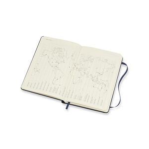 Weekly Notebook. Agenda-taccuino settimanale 2018-2019, 18 mesi, Moleskine pocket copertina rigida. Blu - 4