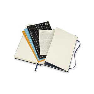 Weekly Notebook. Agenda-taccuino settimanale 2018-2019, 18 mesi, Moleskine pocket copertina rigida. Blu - 7