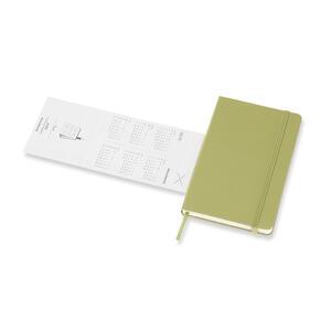 Weekly Notebook. Agenda-taccuino settimanale 2018-2019, 18 mesi, Moleskine pocket copertina rigida. Verde - 6