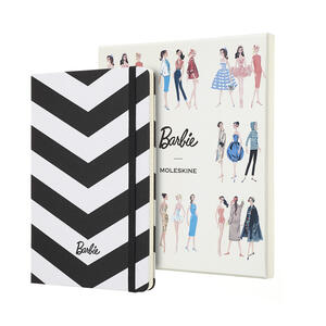 Taccuino Moleskine Barbie Limited Edition large a righe. Scatola da collezione - 3
