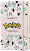 Cartoleria Taccuino Moleskine Pokémon Limited Edition pocket a righe. Jigglypuff Moleskine