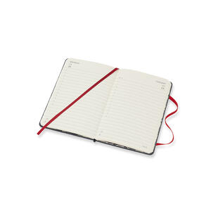 Weekly Notebook. Agenda-taccuino settimanale 2019, 12 mesi, Moleskine pocket. Limited Edition Denim. Nero - 4