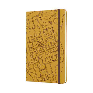 Weekly Notebook. Agenda-taccuino settimanale 2019, 12 mesi, Moleskine large. Limited Edition Harry Potter. Beige - 2