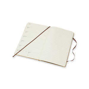 Weekly Notebook. Agenda-taccuino settimanale 2019, 12 mesi, Moleskine large. Limited Edition Harry Potter. Beige - 4
