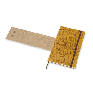 Weekly Notebook. Agenda-taccuino settimanale 2019, 12 mesi, Moleskine large. Limited Edition Harry Potter. Beige - 5
