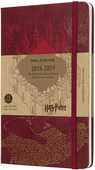 Cartoleria Weekly Notebook. Agenda-taccuino settimanale 2018-2019, 18 mesi, Moleskine large. Limited Edition Harry Potter. Rosso Moleskine