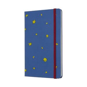 Weekly Notebook. Agenda-taccuino settimanale 2019, 12 mesi, Moleskine large. Limited Edition Piccolo Principe. Blu - 2