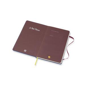 Weekly Notebook. Agenda-taccuino settimanale 2019, 12 mesi, Moleskine large. Limited Edition Piccolo Principe. Blu - 3