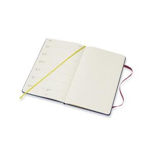 Weekly Notebook. Agenda-taccuino settimanale 2019, 12 mesi, Moleskine large. Limited Edition Piccolo Principe. Blu - 4