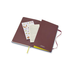 Weekly Notebook. Agenda-taccuino settimanale 2019, 12 mesi, Moleskine large. Limited Edition Piccolo Principe. Blu - 6