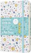Cartoleria Weekly Notebook. Agenda-taccuino settimanale 2018-2019, 18 mesi, Moleskine pocket. Limited Edition Piccolo Principe. Blue Moleskine