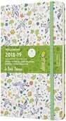 Cartoleria Weekly Notebook. Agenda-taccuino settimanale 2018-2019, 18 mesi, Moleskine large. Edizione limitata Piccolo Principe. Green Moleskine