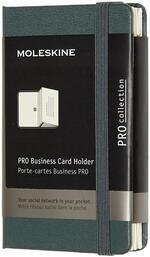 Portacarte Pro Business Card Holder XS copertina rigida verde. Forest Green
