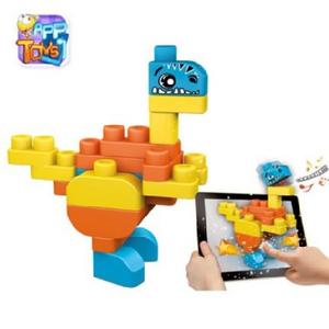 Giocattolo Costruzioni 30 pezzi Dinosauro Chicco 3