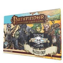 Giochi Uniti. Gioco Di Carte. Pathfinder. Gdc: Teschi E Ceppi Mazzo Eroi