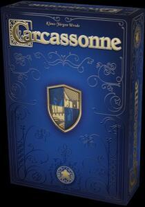 Giocattolo Carcassonne - Edizione 20° Anniversario. Gioco da tavolo Giochi Uniti